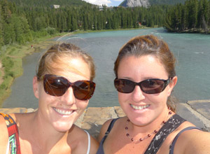 Visiting Jody in Banff, Alberta